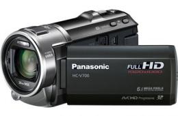 Любительская цифровая видеокамера Panasonic HC-V700