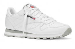 Спортивные кроссовки из натуральной кожи Reebok Classic Leather