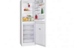 Холодильник с огромной морозильной камерой - «Атлант 6025-031»