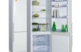 Вместительный отечественный холодильник «Бирюса 132»