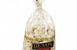 Сытные вкусные пельмени «Цезарь. Классические»