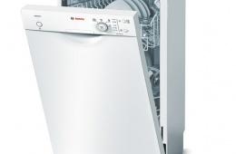 Тихая посудомоечная машина с половинной загрузкой Bosch SPS 40E42RU