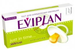 Недорогой надежный тест на овуляцию Eviplan