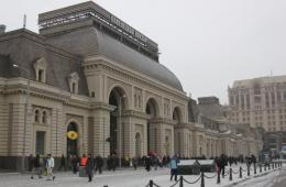 Чистый и теплый Павелецкий вокзал