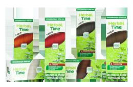 Легкое тонирование в тюбике - крем-хна Herbal Time