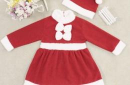 Очаровательный новогодний костюм для девочки с AliExpress