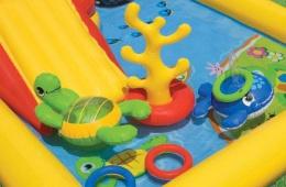Отличное развлечение для детей - надувной бассейн Intex «Океан»