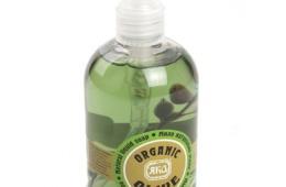 Отличное бюджетное мыло с натуральными компонентами «Яка» Organic olive