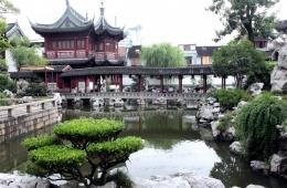 Классический китайский сад в старом Шанхае - «Сад Радости»