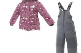 Покупка зимнего костюма от Gusti для девочки