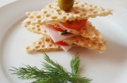 Хлебцы для бутербродов