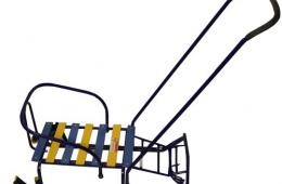 Удобные детские санки с ремнем безопасности «Тимка 5 Комфорт»