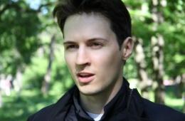 Ничего против Павла Дурова не имею
