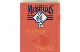 Гели для душа Le Petit Marseillais Белый персик и нектарин