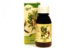 Растительный сироп от кашля