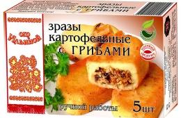Зразы От Ильиной картофельные с грибами