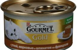 Мясные консервы для привередливых кошек