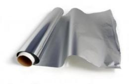 Необходимая вещь на кухне — фольга алюминиевая