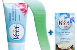 Применение Veet (крема для депиляции)