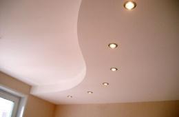 Красивый потолок без изъянов