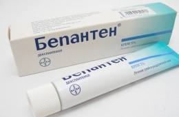 Бепантен - средство №1 для детской кожи.