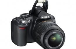 Зеркальная фотокамера Nikon D3100 Kit