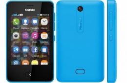 Nokia Asha 501 Blue