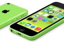 Apple iPhone 5C – классный смартфон на базе iOS 7