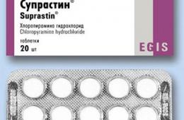 Супрастин - отличное средство против аллергии
