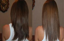 Кератиновое выпрямление волос - эффективная, но дорогая процедура