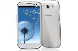 Samsung galaxy III – клевый смартфон на базе системы Android 4.1
