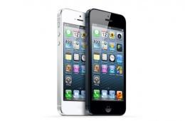 Смартфон на базе iOS 7 с емкостным мультитачем и диагональю в 4 дюйма