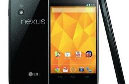 Мой идеальный смартфон LG Nexus 4