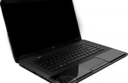 HP 2000 - бюджетный ноутбук на платформе Intel Calpella