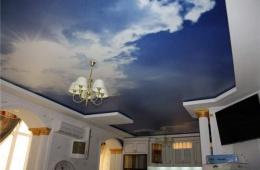 Потолки натяжные - быстро, надежно и красиво