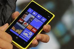 Красочный смартфон на Windows от Nokia