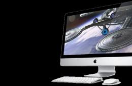 Образец быстрого компьютера от Apple iMac
