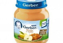 Пюре «Гербер» – хороший вкус, но высокая стоимость