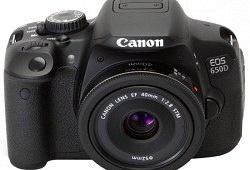 Canon EOS 650D Kit для качественной любительской съемки