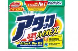 Attack Bio EX - отличный стиральный порошок из Японии
