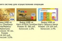 Моментальный вывод электронных денег