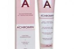 Отбеливающий крем Achromin