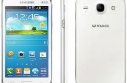Смартфон Samsung Galaxy Core GT-I8262 8Gb