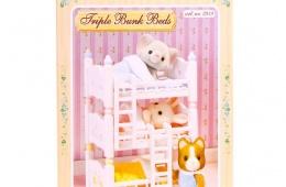 Трехъярусная кровать или три отдельные кровати