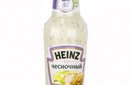 Один из любимых соусов Heinz