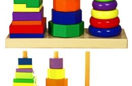 Что для годовалого малыша может быть лучше пирамидки?