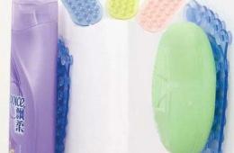 Присоски в ванную комнату для удержания шампуней, гелей, мыла
