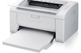 Лазерный принтер Samsung ML-2160