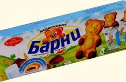 Вкусные медвежата
