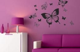 """Наклейки на стены """"Декоретто"""" - оригинальное решение"""